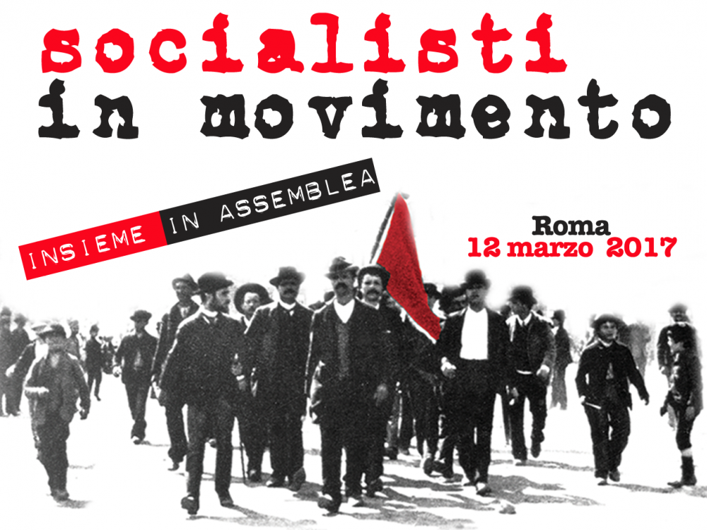 INTERVENTO DI ANGELO CRESCO - Socialisti in Movimento, Roma 12 marzo 2017